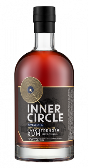 Inner Circle Aust. Cask Strength Rum Black
