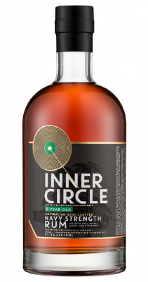 Inner Circle Aust. Navy Strength Rum Green